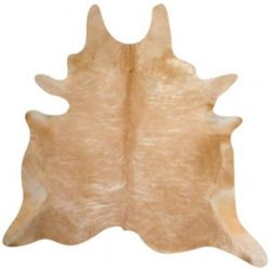 Moo Natural Beige Cow Hide